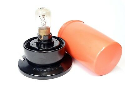 PATERSON Darkroom Safelight (Orange) - Clean and Tested (includes Bulb)