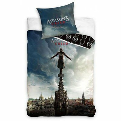 Assassin's Creed Game Movie Duvet Quilt Cover Single Bedding Set 100% Cotton