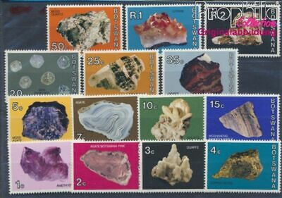 Flora Botswana 258-261 Mint Never Hinged Mnh 1980 Christmas Nature & Plants