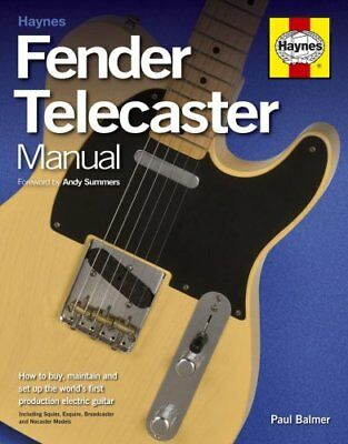Fender Telecaster Manual by Paul Balmer 9781785210563 (Paperback, 2015)