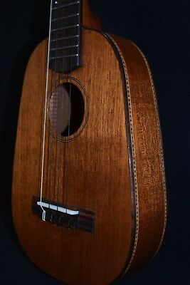 MELE HANDMADE MAHOGANY PINEAPPLE CONCERT UKULELE; Beautiful! Sweet sound.