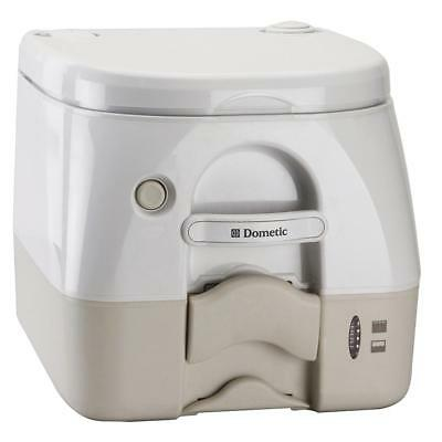 Dometic 974 Portable Toilet 2.6 Gal Tan W/ Brackets - 301097402