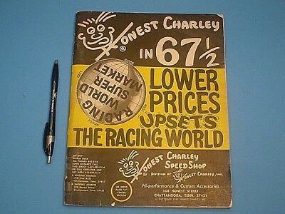 Vintage 1967 Honest Charley Speed Shop Racing Parts Catalog 135 Pages
