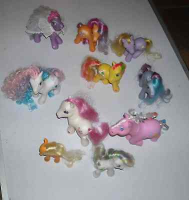 10  Little Poney Hasbro