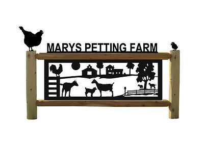 Goats - Chickens - Farm & Ranch Signs