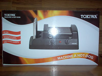 Tokiwa GE-3701A - Machine à Hot Dog / HotDog - Tige Inox / 280 - 300w - NEUF