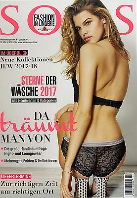 SOUS Fachmagazin Lookbook Lingerie Dessous Fashion Swimwear Hosiery 01/2017