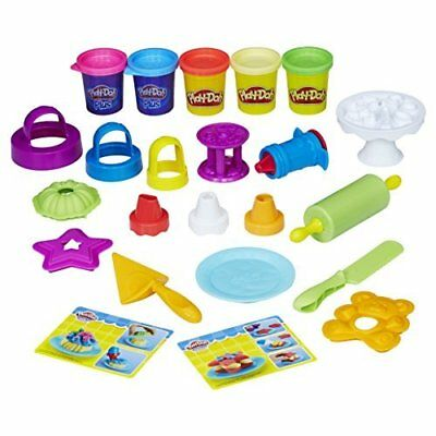PLAY-DOH B9741EU4 Kitchen Creations Frost N Fun Cakes Mould Set
