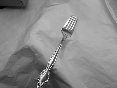 Rogers Lady Densmore (Woodland Rose, Basque Rose) salad fork 6 5/8 inches