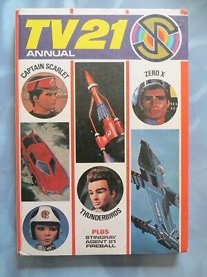 TV 21 Annual 1968 THUNDERBIRDS GERRY ANDERSON CAPTAIN SCARLET STINGRAY