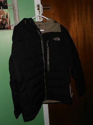 8d54dbd65 $380 THE NORTH Face Point It Down Hybrid Jacket Steep Series Large Black  NWT NEW