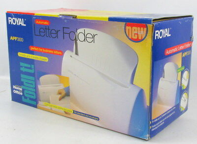 Royal Apf300 Automatic Letter Folder 1 To 3 Sheets