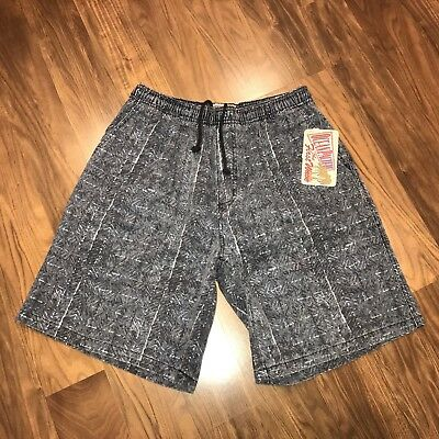 NEW Vtg 80s 90s OCEAN PACIFIC Mens SMALL Surf jams Cotton Elastic shorts L NWT