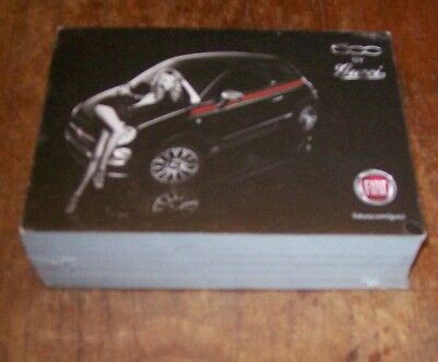 unopened 2-inch thick bundle of 7x5-inch Fiat 500 by Gucci advertising cards