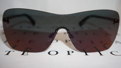 12a2323c07a CHANEL Sunglasses New Shield Airline Runway Purple Mirror 4215 C.467 C1 140