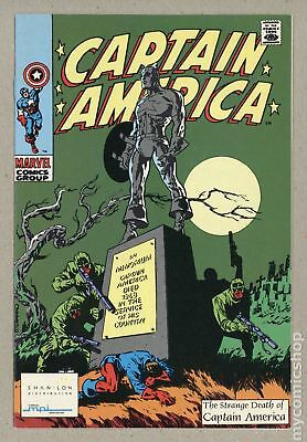 Captain America MPI Audio Edition (Shan-Lon Giveaway) #113 1990 FN/VF 7.0