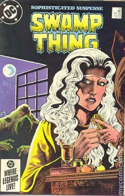 Swamp Thing (2nd Series) #33 1985 FN 6.0 Stock Image