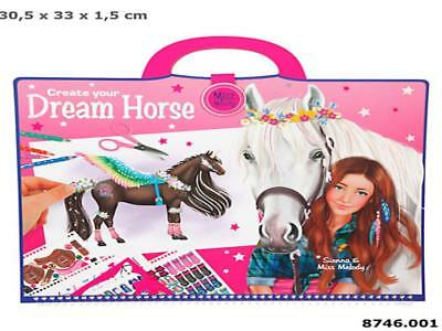 Miss Melody 8746_A - Create Your Dream Horse, Malbuch, Depesche, Neu