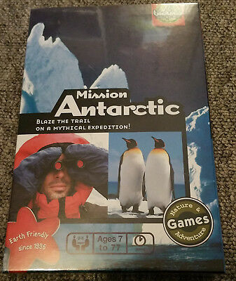 MISSION ANTARCTIC  - Bioviva Board Game (Sealed and unplayed)
