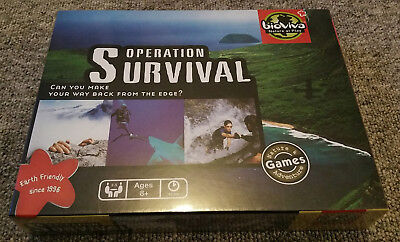 OPERATION SURVIVAL - Bioviva Board Game (Sealed and unplayed)