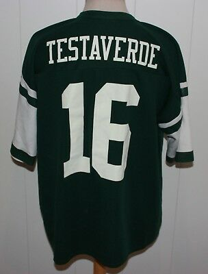 FAN TRIKOT NEW YORK JETS No 16 VINNY TESTAVERDE GR XXL (geschatzt) DIRTY