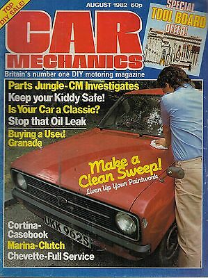 1982 AUGUST 53073 Car Mechanics Magazine  IS YOUR CAR A CLASSIC ?
