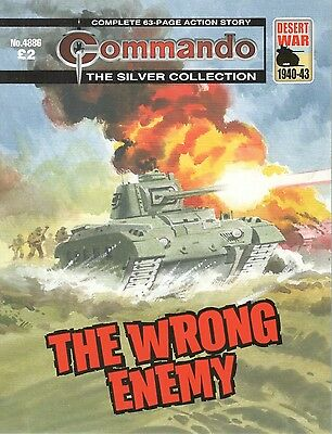 2016 30 JANUARY No 4886 85597  Latest Edition Commando Comic  THE WRONG ENEMY
