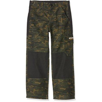 Craghoppers Kids Discovery Adventures Trousers - Dark Moss Combo, Size 11 - 12