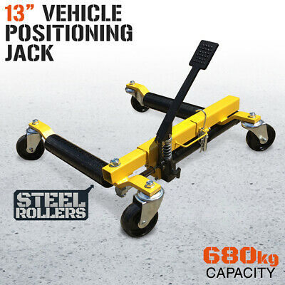 "13""  Vehicle Positioning Jack Wheel Dolly Go Tyre Jack Car Lifter Hoist"