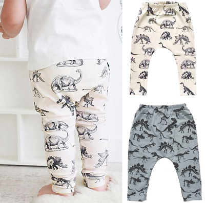 Toddler Baby Boy Warm Pants Kids Elasticity Long Pants Casual Sport Trousers