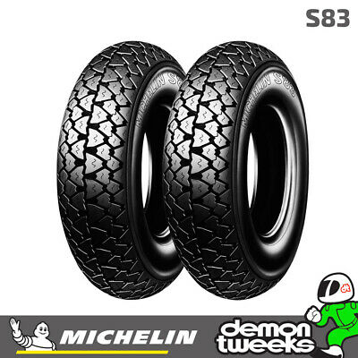 Michelin S83 Scooter / Motorcycle Tyre 3.50-10 (59J) TT - Fits Front / Rear
