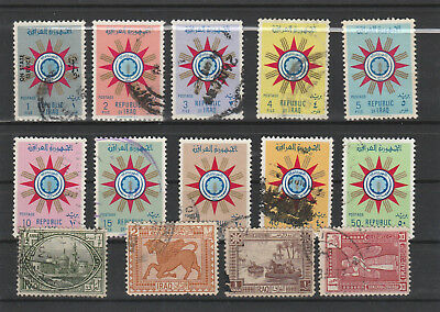 Iraq Iraq Middle East older Postage Stamps mix old Stamps mix Lot Am 5175