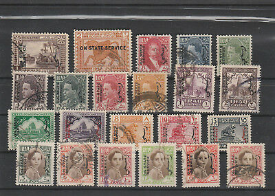 Iraq Iraq Middle East older Postage Stamps mix old Stamps mix Lot Am 5166