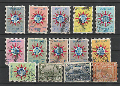 Iraq Iraq Middle East older Postage Stamps mix old Stamps mix Lot Am 5176