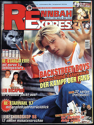 Rennbahn Express Nr.1 von 1998 Titanic, Caught in the Act, Metallica - TOP Z0-1