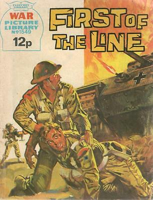 1978 1549 31673 War Picture Library  FIRST OF THE LINE