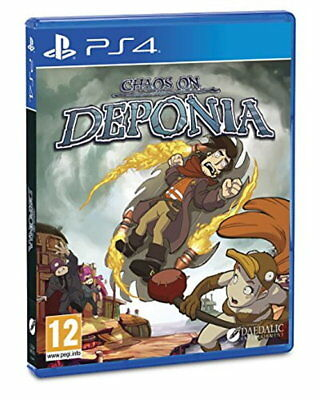 Chaos on Deponia (PS4) [New Game]
