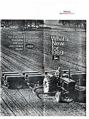 John Deere What's New For 1969 Copy  2380E