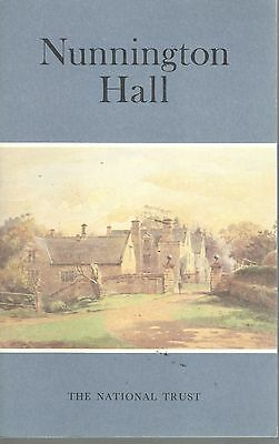 1989 22279 National Trust Guide Book To  NUNNINGTON HALL NORTH YORKSHIRE
