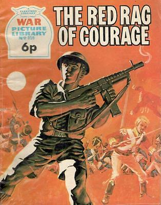 1973 856 31880 War Picture Library  THE RED RAG OF COURAGE