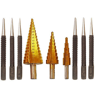 Precision Drill Bit Set 13 Piece HSS 1.5mm to 6.5mm Metal Wood DR082