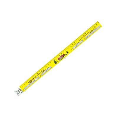 """New Northland Tackle Durable UV Waterproof Vinyl 36"""" Ruler Fishing Scale NRS-36"""