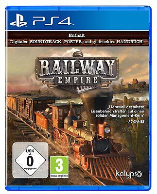 Railway Empire PS4 PLAYSTATION 4 New+Boxed