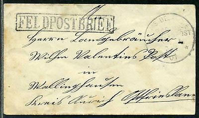 DP China Feldpostbrief  MSP  Wallinghausen  1901