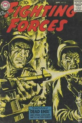 Our Fighting Forces #25 1957 GD+ 2.5