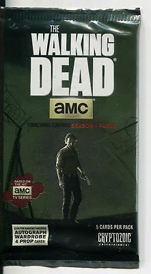 Walking Dead Season 4 Part 2 Hot Pack Containing A Prop , Relic Or Wardrobe Card
