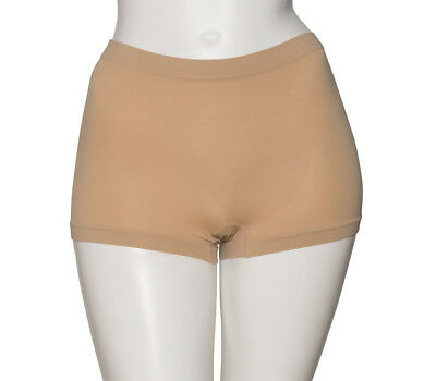 Nude Seamless Ballet Dance Underwear High Waist Briefs Pants Knickers By Katz