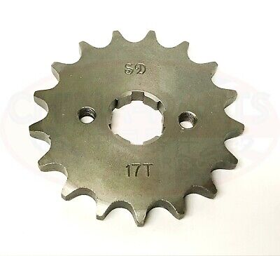 Front Sprocket Gearing Upgrade for more Speed 428-17T to fit Lexmoto Viper SK125