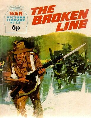 1973 No 823 37309 War Picture Library  THE BROKEN LINE