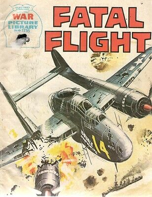 1975 No 1116 W37449 War Picture Library  FATAL FLIGHT